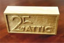 statuetka gratulacje 25 lat attic sklady budowlane