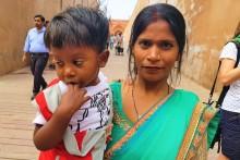 magiczne Indie kobiet dziecko
