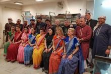 magiczne Indie tradycyjne stroje indyjskie