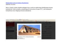Małopolskie Centrum Edukacji MCEB cafenews.pl Składy Budowlane Attic