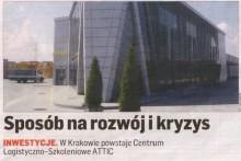 Małopolskie Centrum Edukacji MCEB Dziennik Polski Attic Składy Budowlane