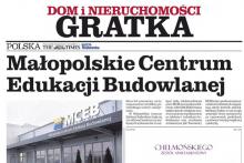 Małopolskie Centrum Edukacji MCEB Gazeta Krakowska Attic Centrum Budowlane