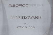 podziękowanie isoroc polska attic składy budowlane