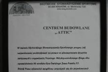 podziękowanie pomoc finansowa między narodowy bieg Skotnickie Stowarzyszenie Sportowe attic
