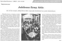 jubileusz fimry Attic Krakowski Rynek Nieruchomości