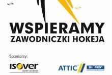 wspieramy zawodniczki hokeja KS Cracovia isover składy budowlane attic