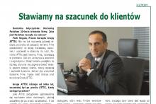 wywiad Piotr Reguła Krakowski Rynek Nieruchomości Centrum Budowlane Attic